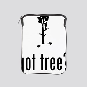 Tree-Trimmer-02-A iPad Sleeve