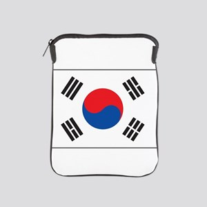 South Korea Flag iPad Sleeve