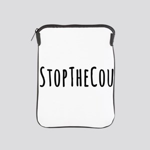 Stop The Coup iPad Sleeve