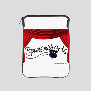 PuppetSmith Arts red curtain iPad Sleeve