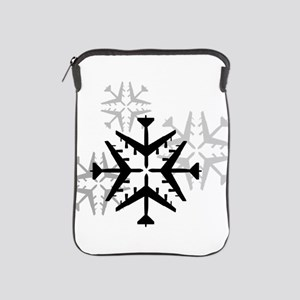 B-52 Aviation Snowflake iPad Sleeve