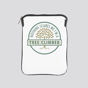 Nothing Scares Me Tree Climber Tree Cl iPad Sleeve