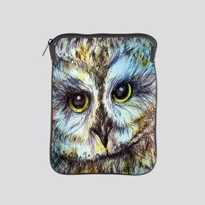 Owl, wildlife art, iPad Sleeve