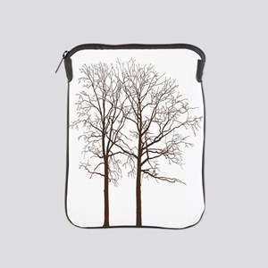 Brown Trees iPad Sleeve