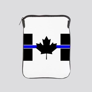 Canadian Police: Thin Blue Line iPad Sleeve