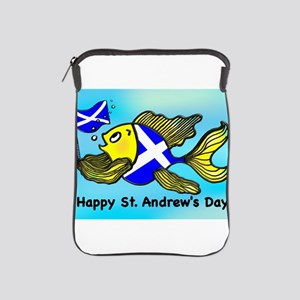 Happy St. Andrews Day iPad Sleeve