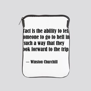 tact:Winston Churchhill iPad Sleeve
