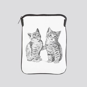 Tabby kittens iPad Sleeve