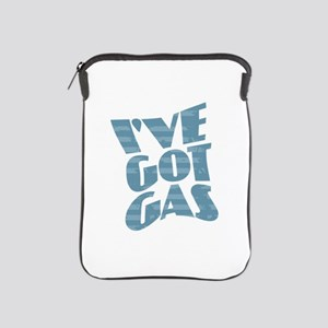 I've Got Gas - Blue iPad Sleeve