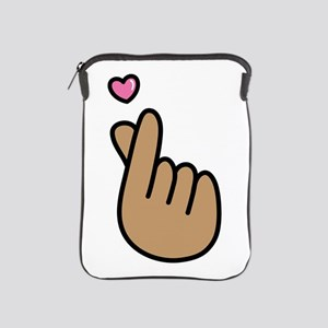 Finger Heart Sign iPad Sleeve