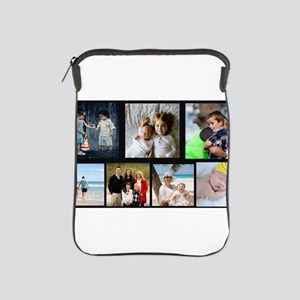 7 Photo Family Collage iPad Sleeve