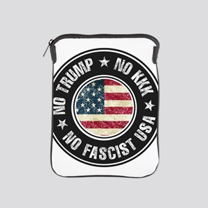 No Trump No KKK No Fascist USA iPad Sleeve