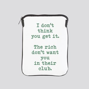 Rich Club iPad Sleeve