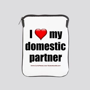 """Love Domestic Partner"" iPad Sleeve"