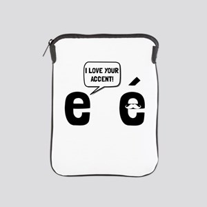 Love Accent iPad Sleeve