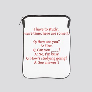 Study Time iPad Sleeve