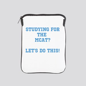 MCAT study iPad Sleeve