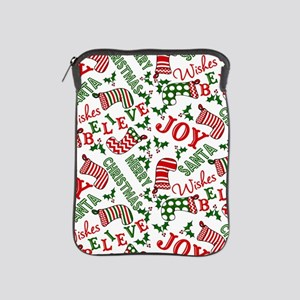 merry christmas joy iPad Sleeve