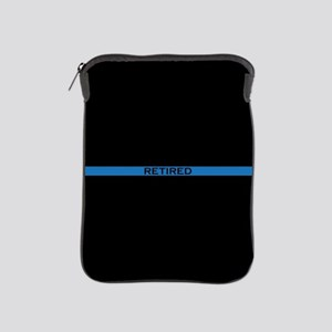 Retired Thin Blue Line iPad Sleeve