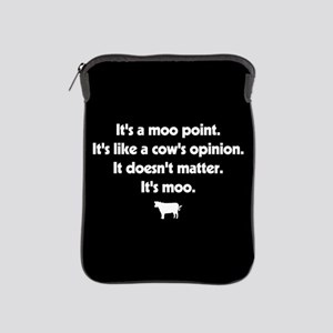 Friends Moo Point iPad Sleeve