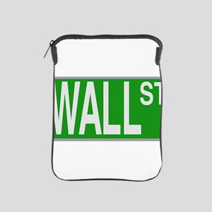 Wall Street Sign iPad Sleeve