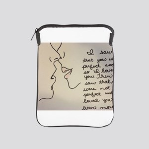 Sweet Kiss iPad Sleeve