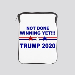 Not done winning yet! iPad Sleeve