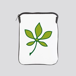 Ohio Buckeye Leaf iPad Sleeve
