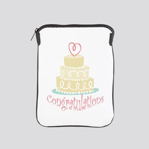 Congratulations Cake iPad Sleeve