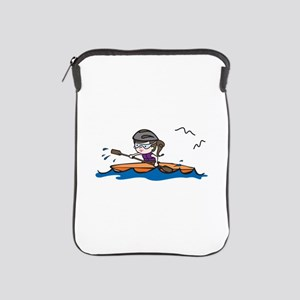 Kayak Girl iPad Sleeve