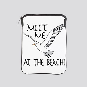 Meet Me At The Beach! iPad Sleeve