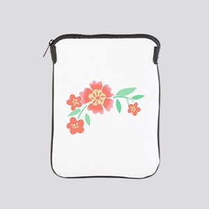 Floral Accent iPad Sleeve