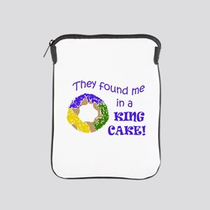 FOUND ME IN A KING CAKE iPad Sleeve
