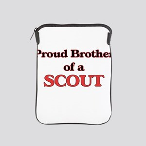 Proud Brother of a Scout iPad Sleeve