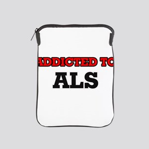 Addicted to Als iPad Sleeve