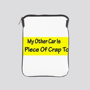 myothercarsticker iPad Sleeve