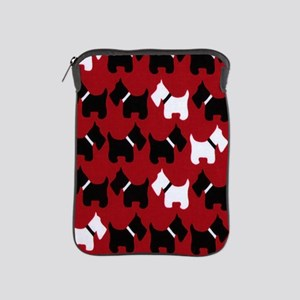 Scottie Dogs Red iPad Sleeve