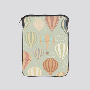 Vintage Hot Air Balloons iPad Sleeve