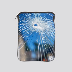 Broken glass iPad Sleeve