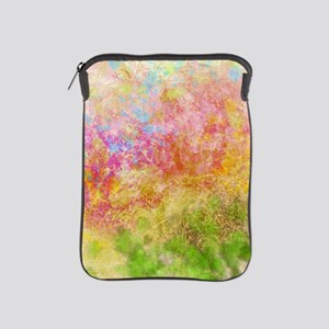 Soft Floral Abstract Design iPad Sleeve