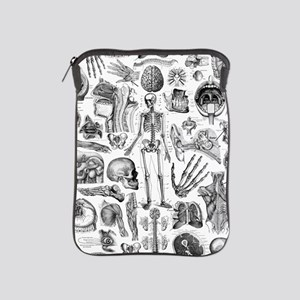 anatomy_W_queen_duvet iPad Sleeve