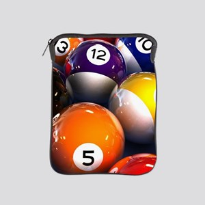 Billiard Balls iPad Sleeve