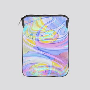 pastel hologram iPad Sleeve