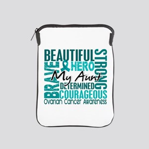 Tribute Square Ovarian Cancer iPad Sleeve