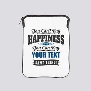 Custom Happiness iPad Sleeve