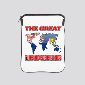 The Great Turks and Caicos Islands iPad Sleeve