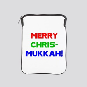 Merry Chrismukkah iPad Sleeve