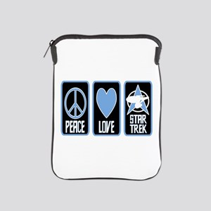 Peace Love Star Trek iPad Sleeve