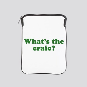 What's The Craic iPad Sleeve