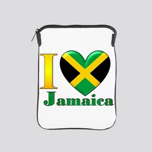 I love Jamaica iPad Sleeve